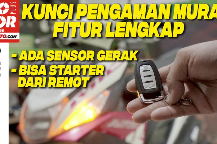 Video pasang alarm tambahan dan fiturnya di motor