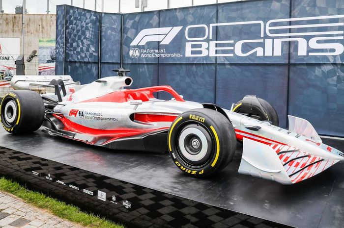 Mobil konsep F1 2022