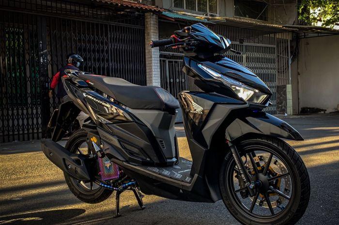 Modifikasih menawan Honda Vario 150