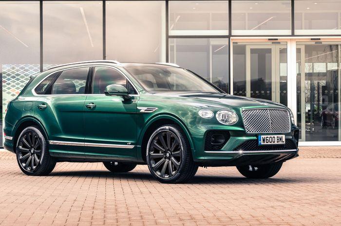 Bentley Bentayga dengan pelek serat karbon hasil pengembangan Mulliner dan Bucci Composites.