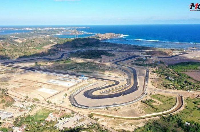 Pembangunan Sirkuit Mandalika, Lombok, NTB hampir rampung