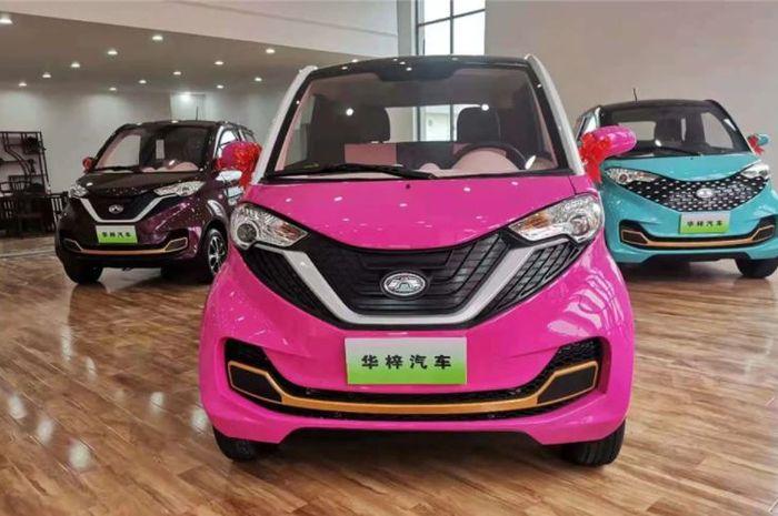 Mobil listrik Mini Model 2, seharga 6 Honda BeAT.