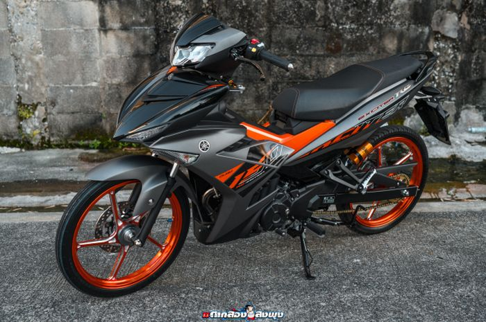 Modifikasi Yamaha MX King 150