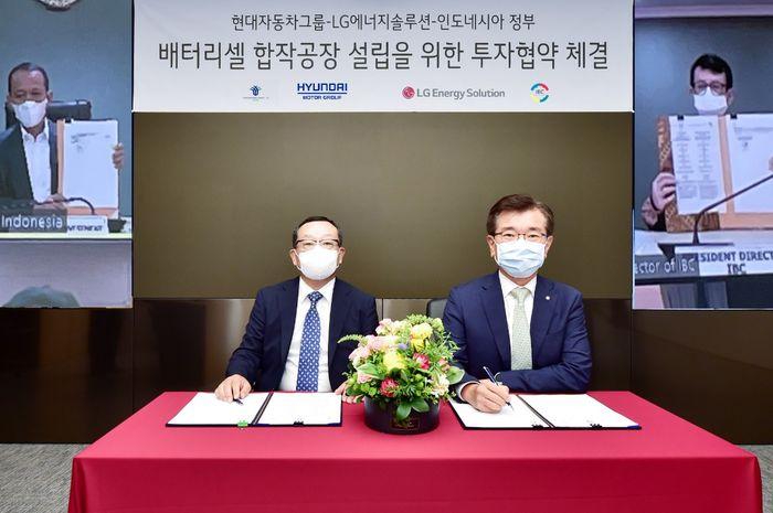 Hyundai dan LG punya pertimbangan tersendiri mengenai dipilihnya Karawang sebagai lokasi pabrik sel baterai