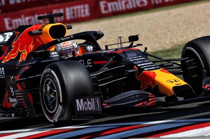 Max Verstappen kuasai FP1 F1 Hongaria 2021