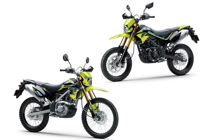Mengulik sejarah Kawasaki KLX 150 dan D-Tracker 150  di Indonesia, pelopor motor trail dan supermoto dari 'geng ijo.'