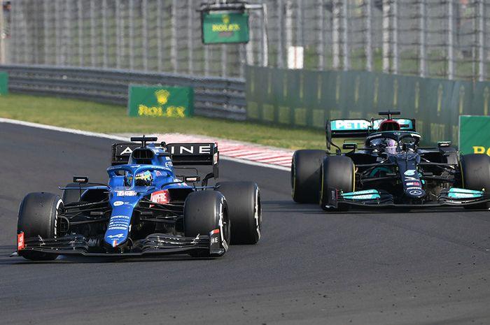 Fernando Alonso sebut Lewis Hamilton kebanyakan protes