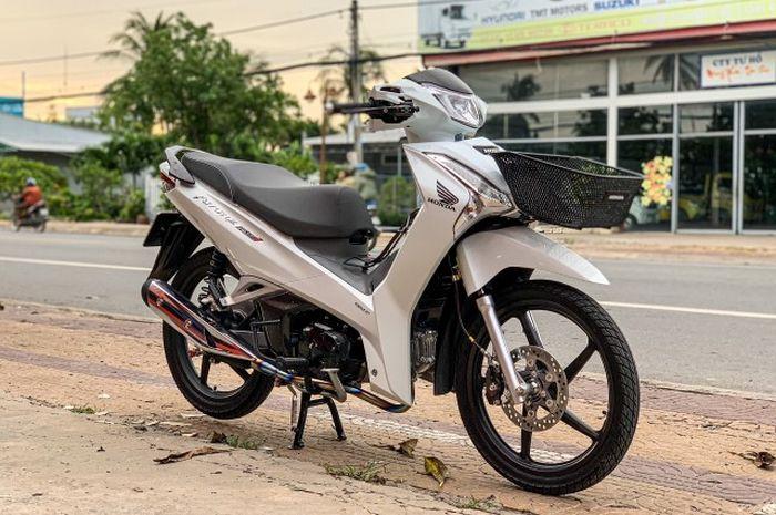 Modifikasi Honda Future alias Supra X 125