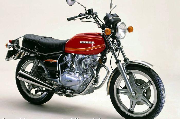 Honda CB250T yang digunakan Mikey di anime Tokyo Revengers
