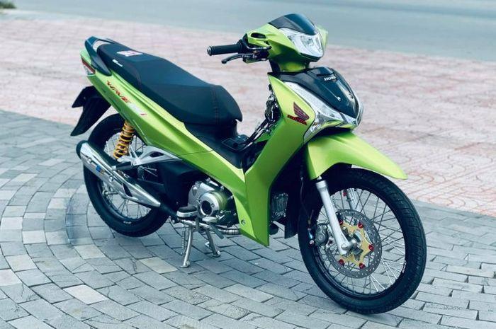 Modifikasi Honda Wave 125i atau kerabat Supra X 125