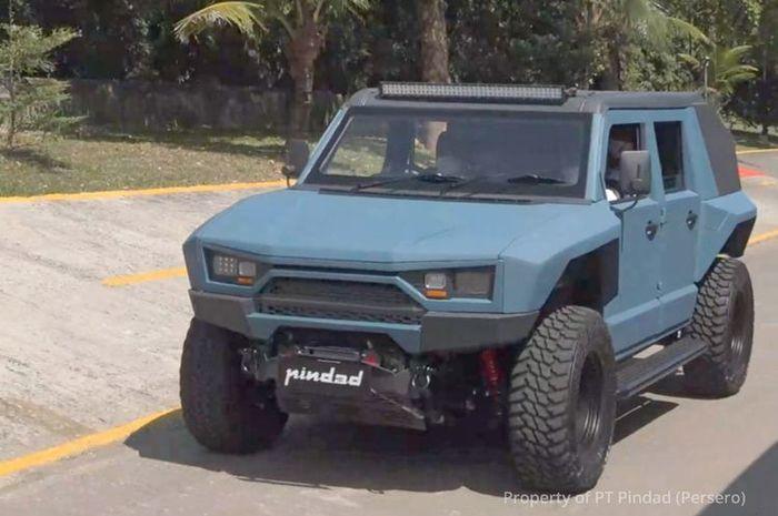 Mobil taktis Pindad MV2 4x4