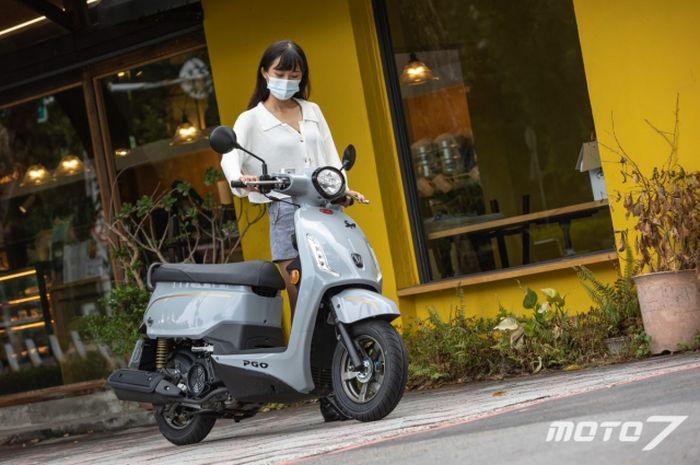PGO Spring 125, motor matic baru yang meluncur di pasar Taiwan.