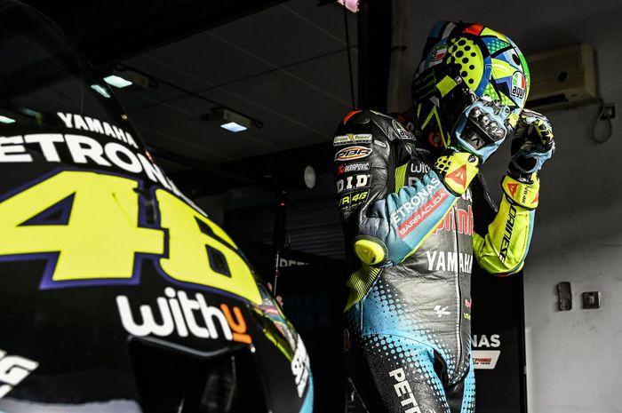 Valentino Rossi Pensiun sebagai pembalap MotoGP di akhir musim 2021