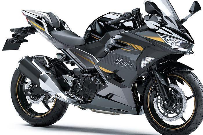 Pilihan warna baru Kawasaki Ninja 250FI