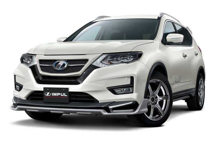 Modifikasi Nissan X-Trail bergaya sporty hasil garapan Impul