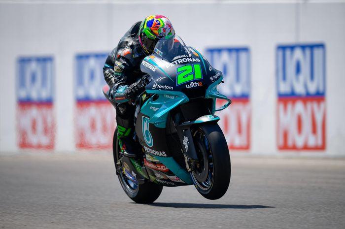 Franco Morbidelli pasti naik ke tim pabrikan Yamaha di MotoGP 2022