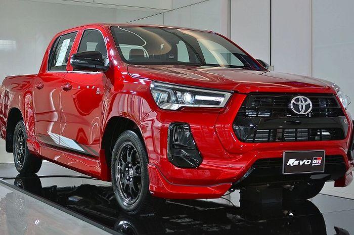Penampakan asli Toyota Hilux GR Sport Low Rider