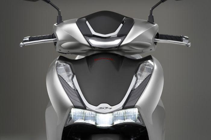 Desain depan motor baru Honda SH350i