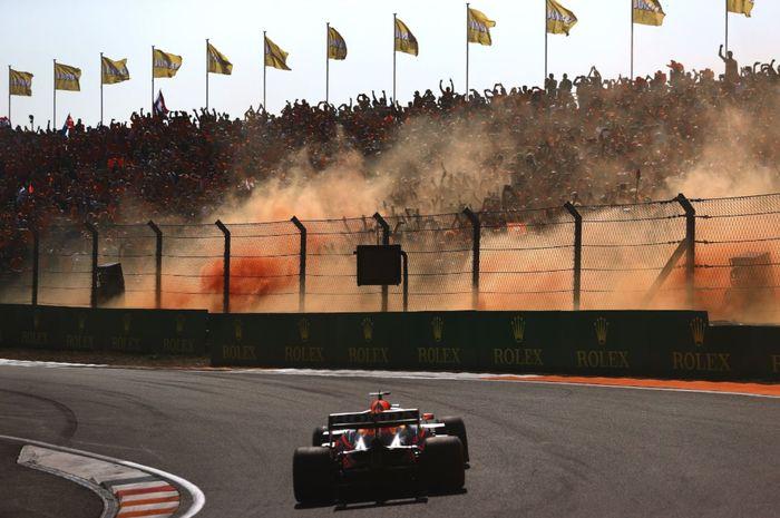 Max Verstappen rebut puncak klasemen F1 2021 setelah menang F1 Belanda 2021