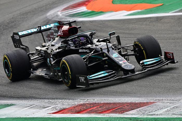 Lewis Hamilton kuasai FP1 F1 Italia 2021
