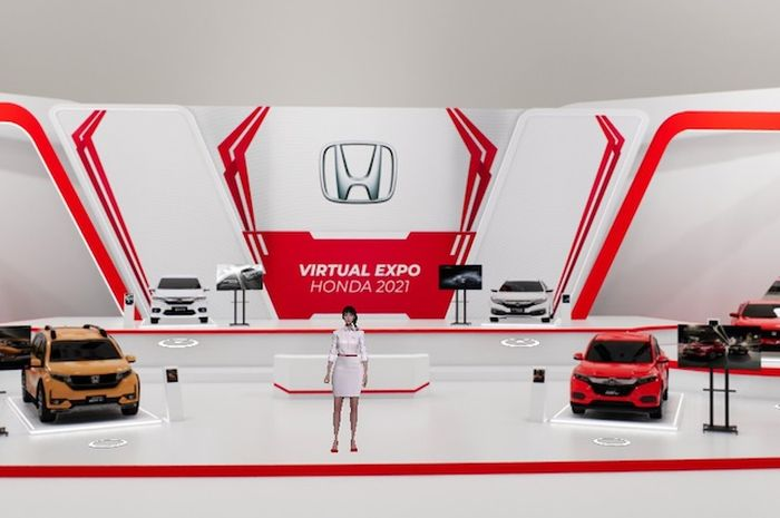 Pameran Virtual Expo Honda digelar Honda Jakarta Center