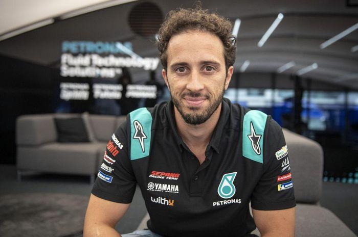 Andrea Dovizioso resmi berseragam Petronas Yamaha SRT dan menjadi rekan setim Valentino Rossi