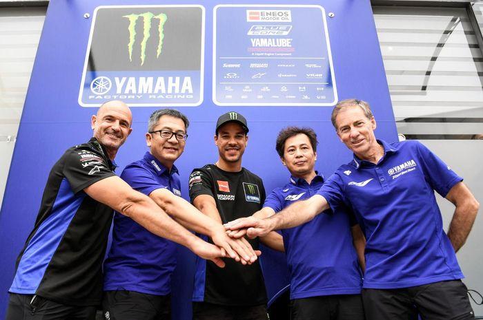 Franco Morbidelli resmi menjadi pembalap tim Pabrikan Yamaha alias Monster Energy Yamaha MotoGP