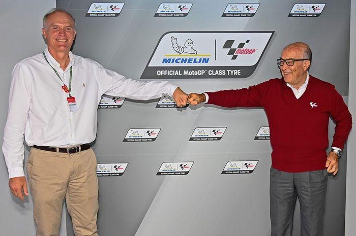 Michelin dan Dorna Sports menjalani perpanjangan kerjasama dengan Dorna Sports sampai 2026.