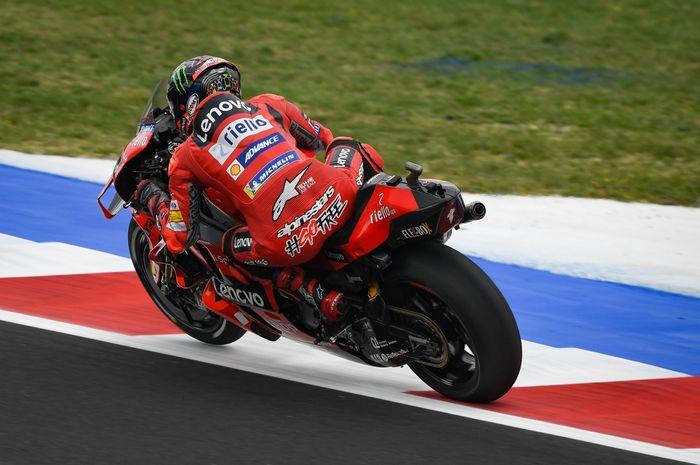 Francesco Bagnaia kuasai FP3 MotoGP San Marino 2021