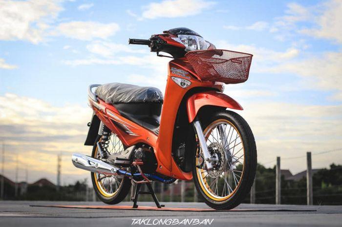 Modifikasi Honda Supra X 125 generasi pertama