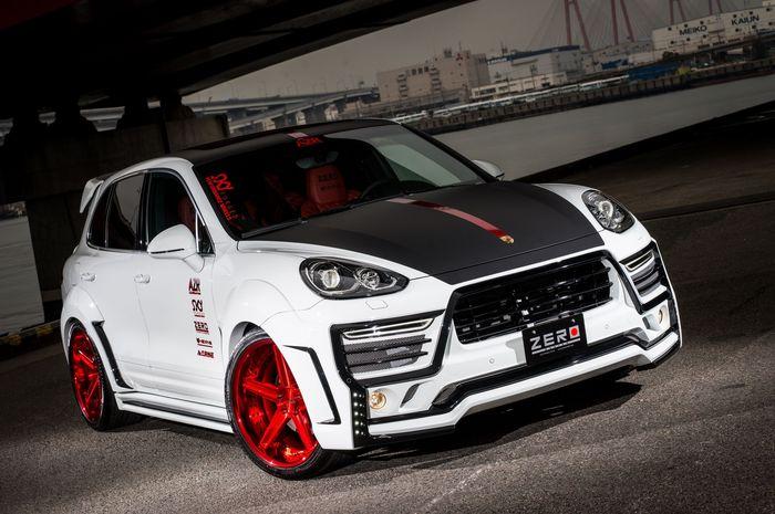 Modifikasi Porsche Cayenne hasil garapan Zero Design, Jepang