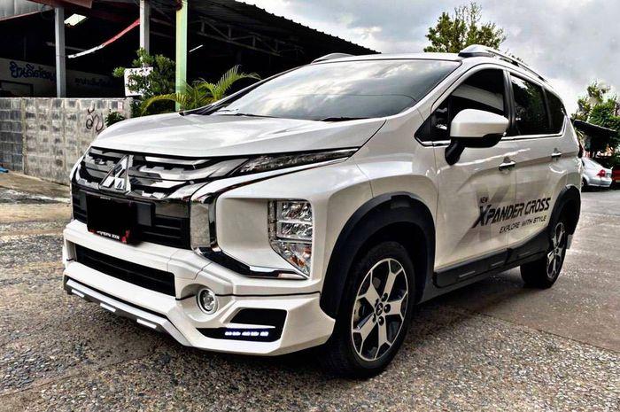 Modifikasi Mitsubishi Xpander Cross garapan Siam Bodykit, Thailand