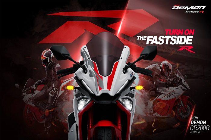 Desainnya bikin ngiler, motor baru 200 cc resmi meluncur, harganya mirip-mirip Yamaha NMAX.