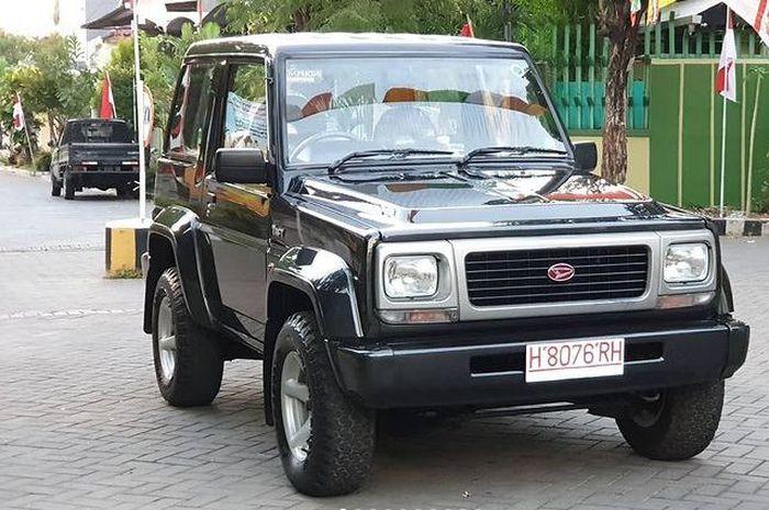 Daihatsu Taft GT F73 Tahu 1997 dijual Rp 550 juta