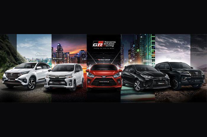 Bersamaan dengan dirilisnya TOYOTA GAZOO Racing di Indonesia, ada 5 line-up kendaraan GR Sport yang diperkenalkan.