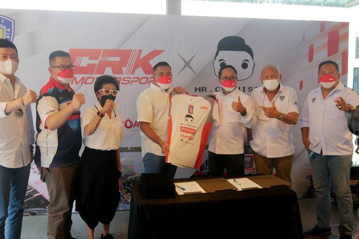 CRK Motorsport gandeng Mr. Cuanisasi jadi sponsor utama