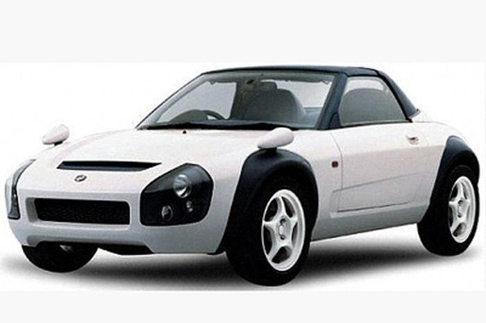 Sportscar konsep bikinan Suzuki, namanya Suzuki C2.