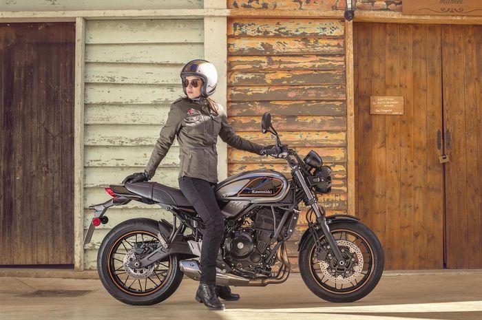 Motor gede bergaya retro Kawasaki Z650RS resmi dirilis