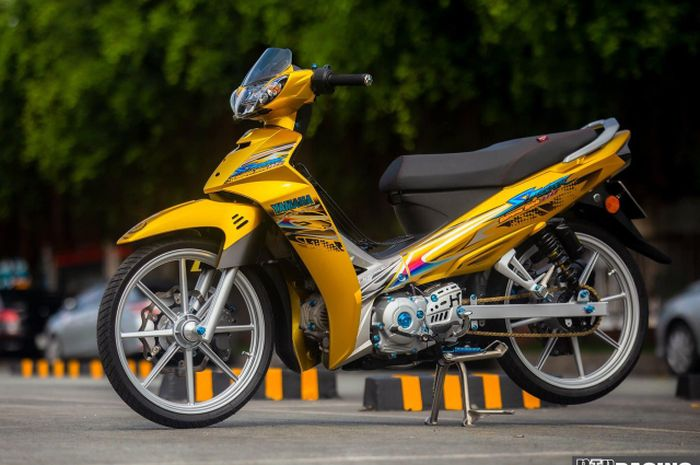 Modifikasi Yamaha Vega R yang super istimewa