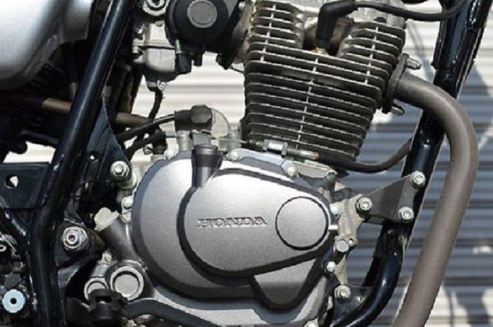 Ilustrasi blok mesin Honda