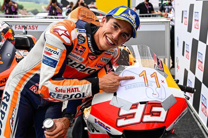 Marc Marquez menangi seri MotoGP Jerman 2021, ternyata bukan karena faktor sirkuit saja