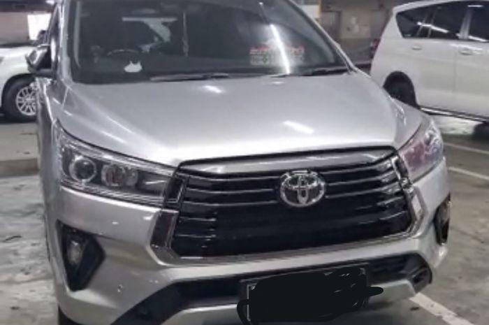 Toyota Innova Reborn lawas diubah model facelift