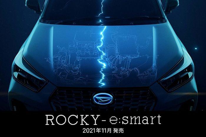 Daihatsu tengah siapkan Rocky E-Smart Hybrid untuk meluncur November 2021.