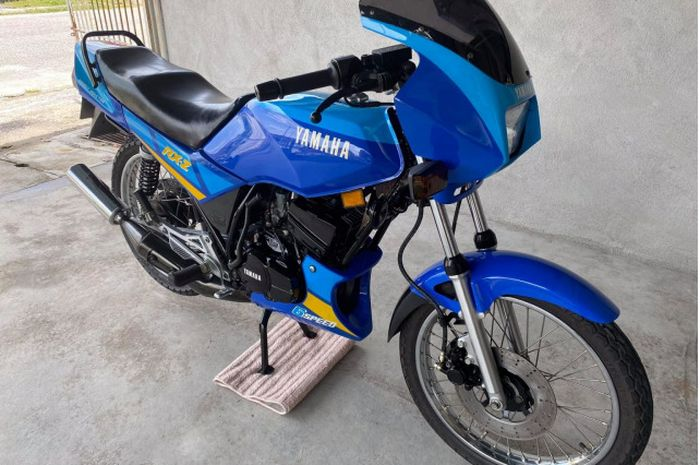 Yamaha RX-Z kondisi mulus yang dijual Rp 200 jutaan