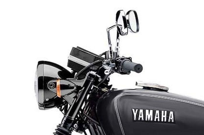beredar renderan Yamaha RX 155, bodinya klasik mirip RX King tapi pakai mesin R15 baru