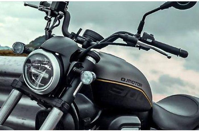 gendong mesin V-Twin 300 cc, motor Hampir-Davidson baru resmi meluncur, ini penampakannya