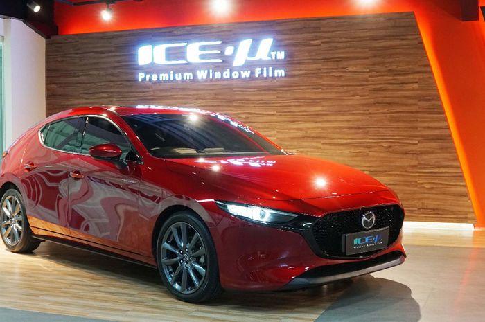 ICE-µ Premium jadi kaca film resmi semua model Mazda Di Indonesia