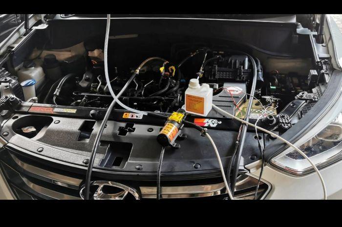 Air intake cleaner mobil mesin diesel