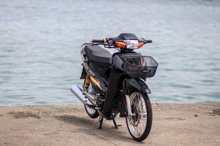 Modifikasi Honda Wave 100 alias Supra X