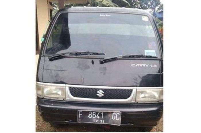 Suzuki Carry Pikap F 8641 GC yang ditemukan warga Parungkuda, Sukabumi di parit akhirnya kembali ke pemilik